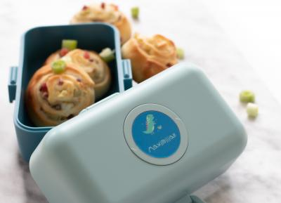 Salty autumn snail cakes for your lunchbox