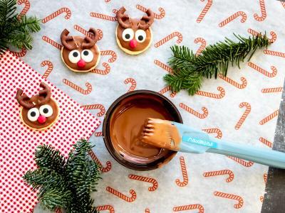 Cute reindeer cookies   StickerKid Singapore